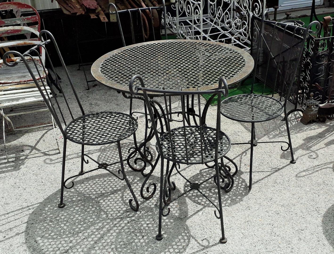 Your Deco Table 40 SearchArt Fer Elegante En De Salon 1930 Tres nvm0wON8