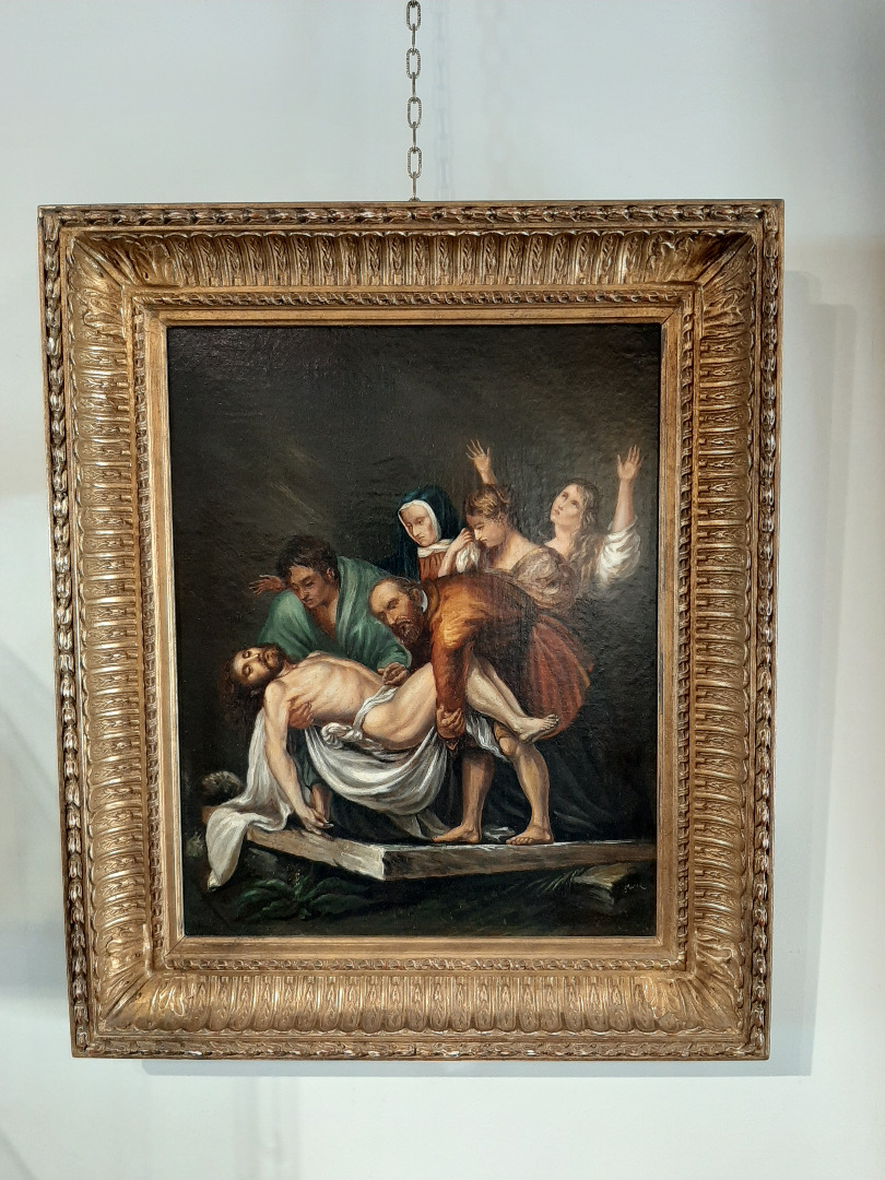 LATE 18th CENTURY REPRODUCTION OF THE ENTOMBMENT