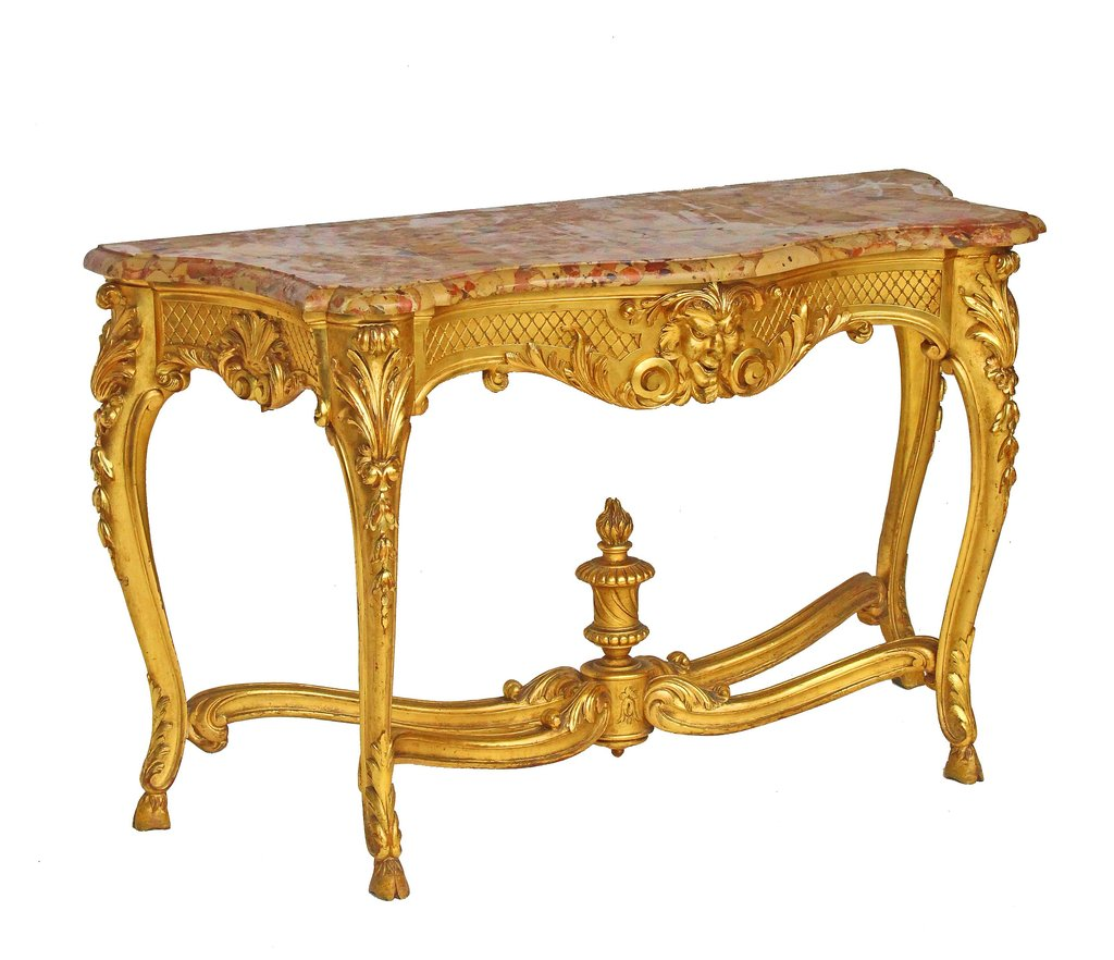 Table console d 039 apparat louis xv dite quot table a - Table louis xv ...