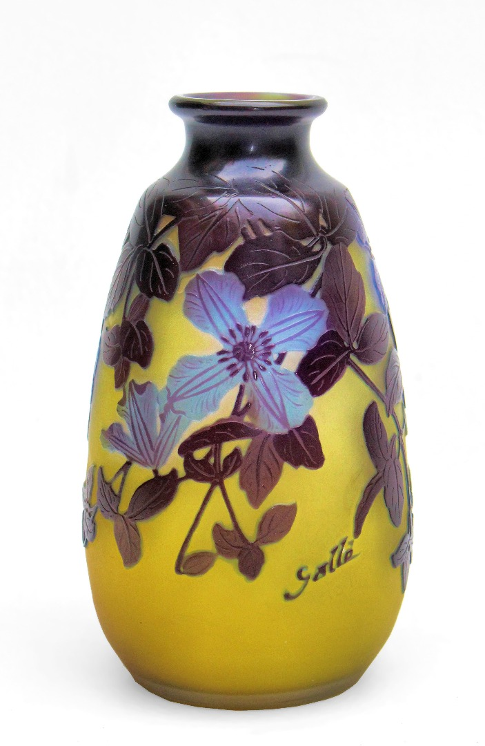 Art Deco Vase In Faience De Blois By Emile Balon Antiques In France