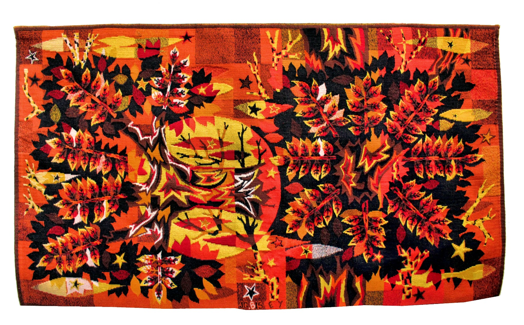 AUBUSSON TAPESTRY  1950-60 J.C Bissery