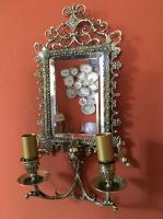 PAIR OF LOUIS XIII STYLE WALL LIGHTS