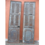 19th CENTURY METAL DOORS