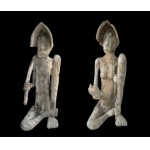 Couples statues Asmat