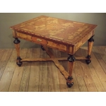 Louis 14  Table marquetry