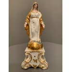 PORCELAIN DE PARIS VIRGIN MARY