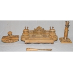 FRENCH EMPIRE STYLE DESK SET