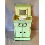 TOY PAINTED SHEET TOILET TABLE