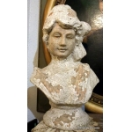 EARTHENWARE BUST
