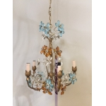 Beautiful glass flower chandelier