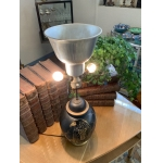 ART DECO PERIOD VASE CONVERTED INTO A LAMP