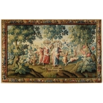 An Royal Aubusson  mythological tapestry, 17th century