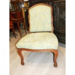 Large Chair A Queen Louis XV Period Circa XVIII Eme Century