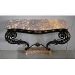 ROCAILLE STYLE CONSOLE TABLE