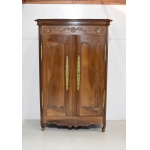 Louis XV Walnut Cabinet - Nineteenth