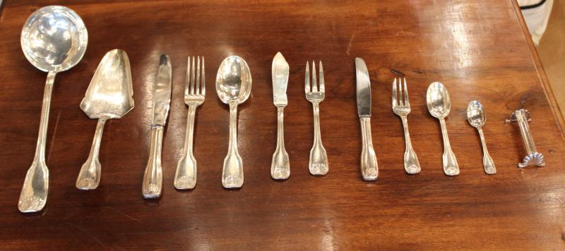 ERCUIS SILVER PLATED CUTLERY