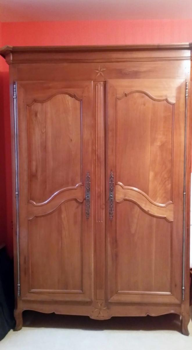 Attrayant CHERRYWOOD ARMOIRE