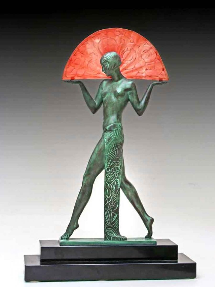 Bronze art d co antiques in france for Deco francaise