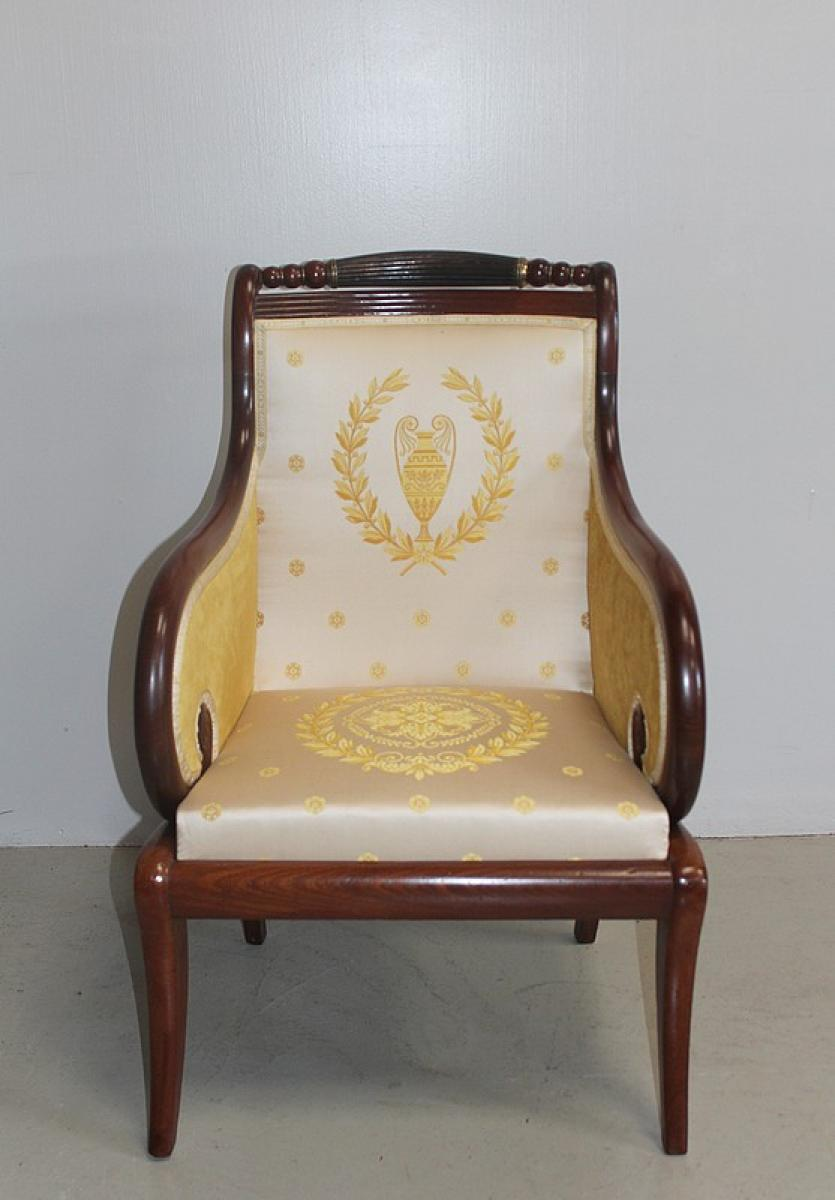 fauteuil berg re antiques in france. Black Bedroom Furniture Sets. Home Design Ideas