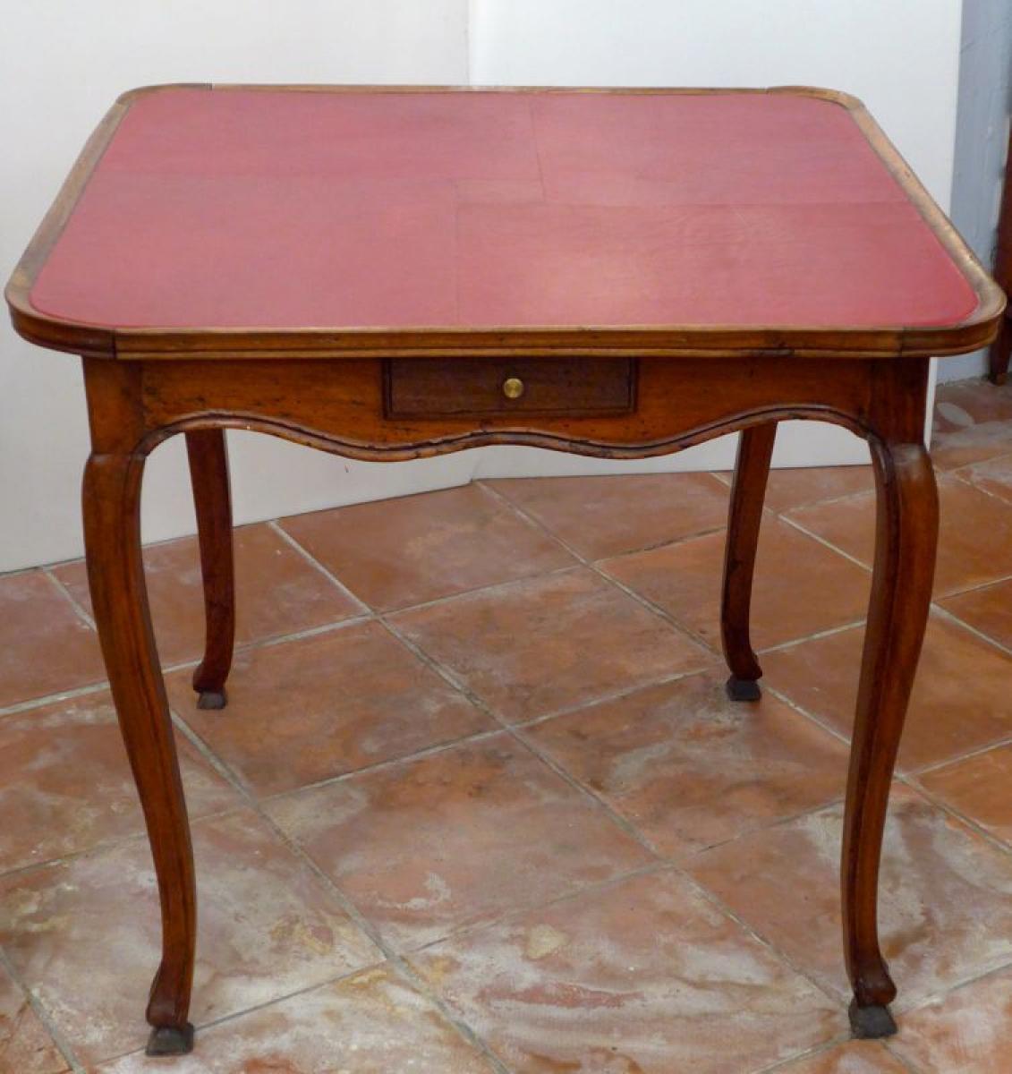 Card table antiques in france - Comment mettre la table en france ...
