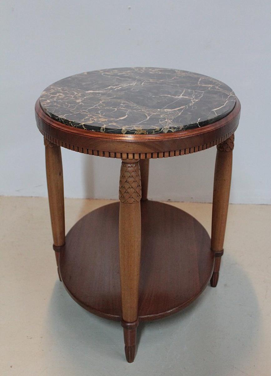 art deco period coffee table antiquites lecomte. Black Bedroom Furniture Sets. Home Design Ideas