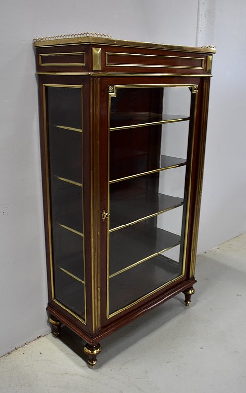 ART NOUVEAU PERIOD DISPLAY CABINET