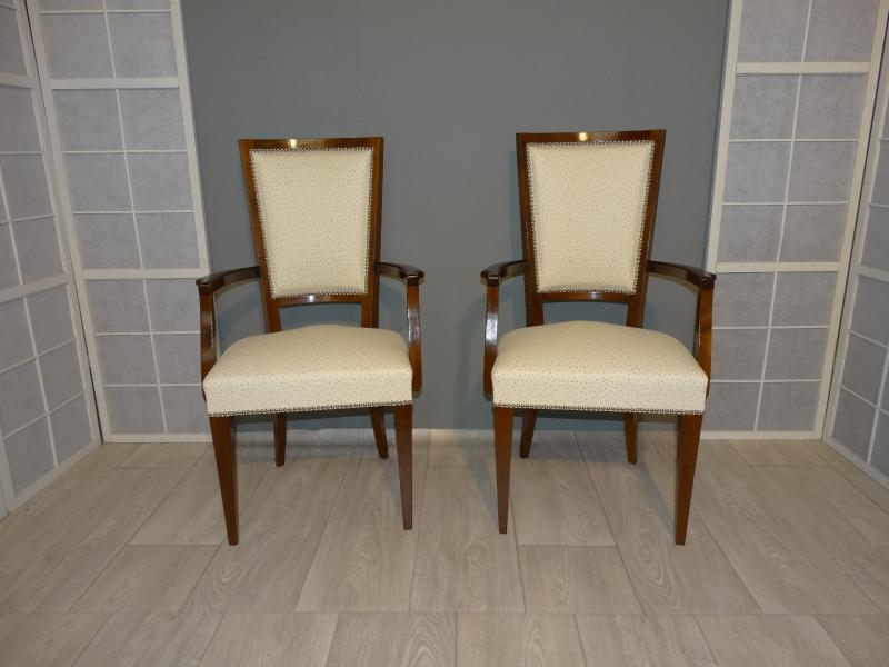 ART DECO PERIOD ARMCHAIRS