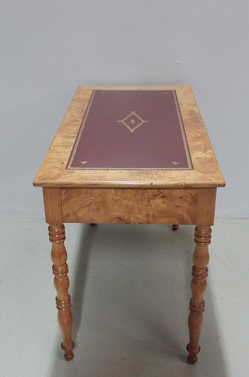 Louis philippe period writing table antiquites lecomte - Table basse louis philippe ...