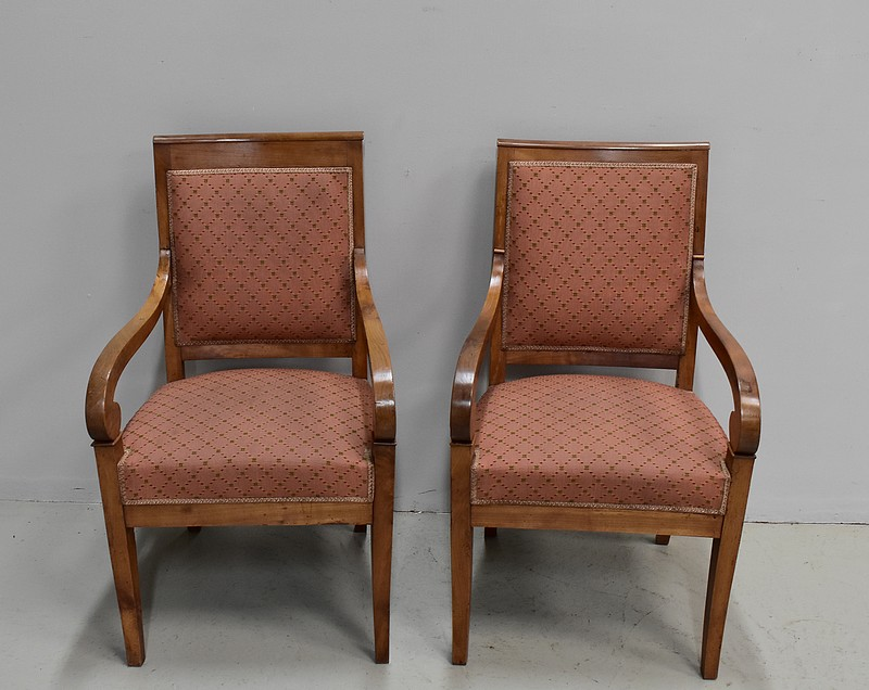 FRENCH RESTAURATION PERIOD ARMCHAIRS