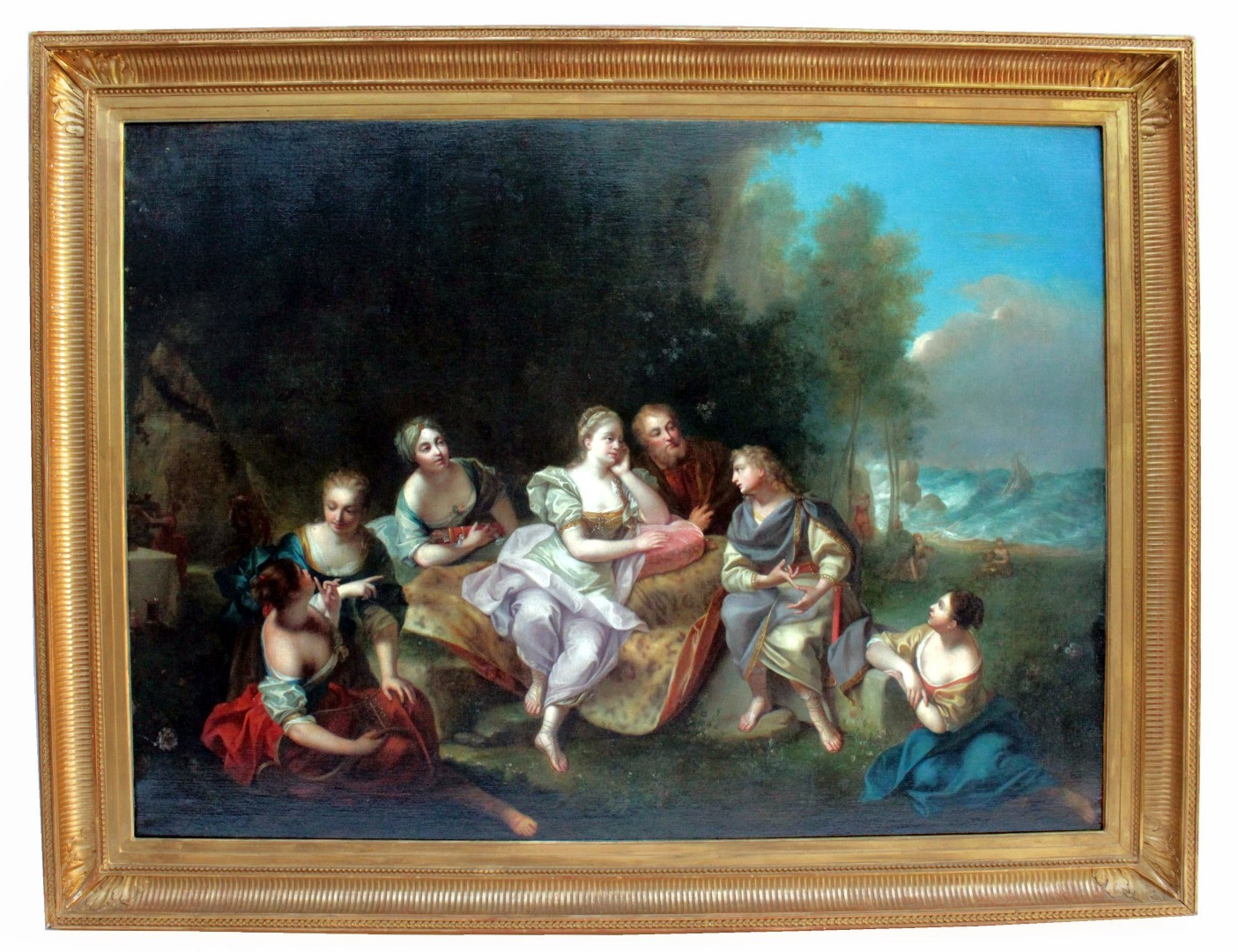 OIL ON CANVAS BY Jean Raoux (1677-1734)
