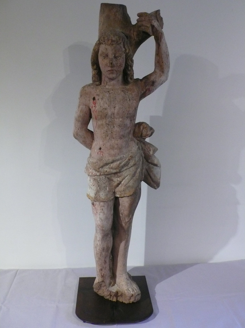 18th CENTURY STATUE OF ST SEBASTIAN