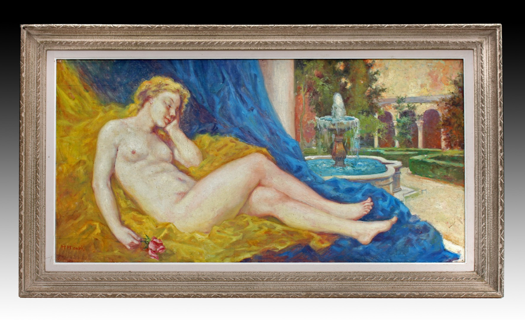ART DECO PERIOD PAINTING