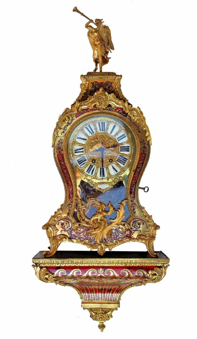 NAPLEON III PERIOD CLOCK