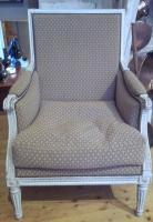 LOUIS XVI PERIOD ARMCHAIR