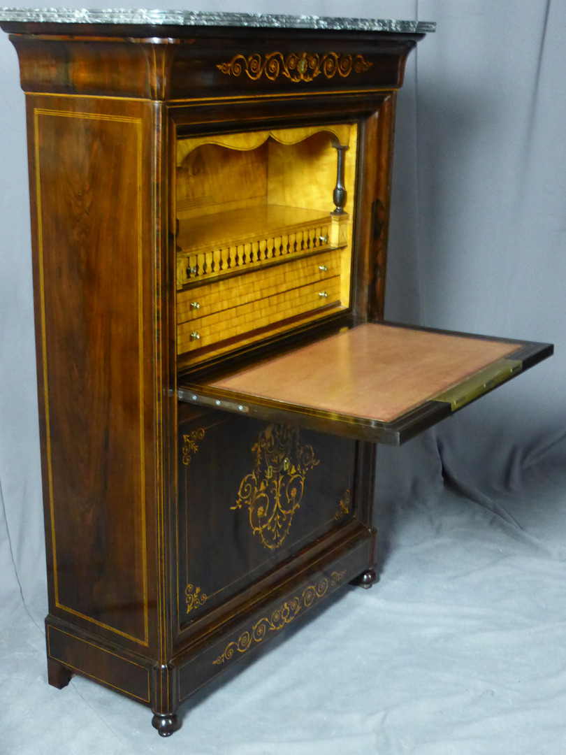 CHARLES X PERIOD SECRETAIRE
