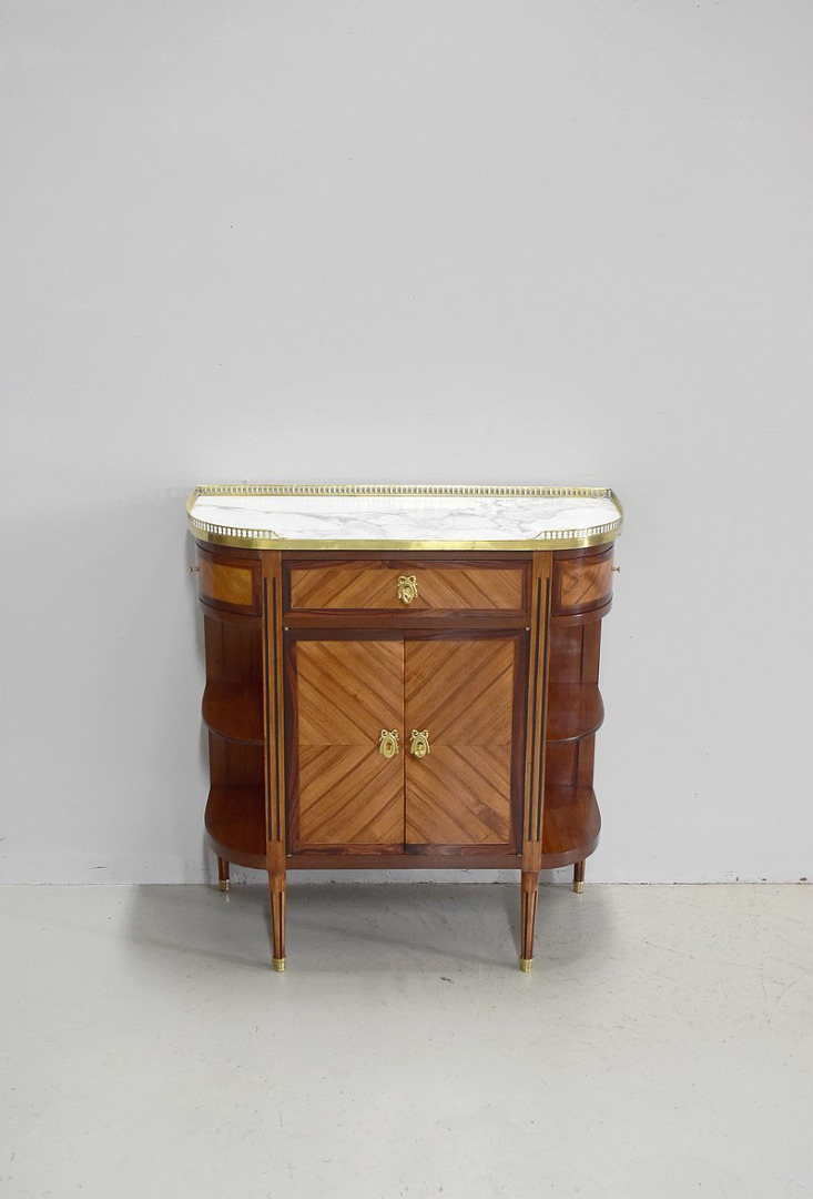 Small serving Louis XVI furniture between - two - nineteenth