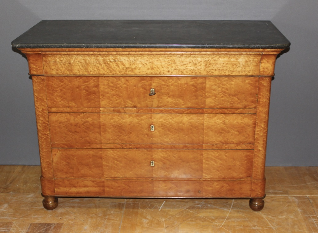 CHARLES X PERIOD CHEST OF DRAWERS