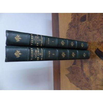 Rare First edition Voyages In Corsica, on the island of Elba And In Sardinia PASQUIN (Antoine Claude), says… M Valery. Napoleon 1st Napoleon emperor empire