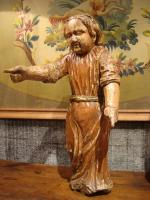 CARVED WOOD STATUE
