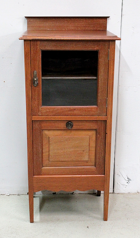 CABINET WITH PAPER RACK