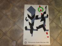 ALLAN  D'ARCANGELO: LITHO FOR THE OLYMIC GAMES, MUNICH 1972