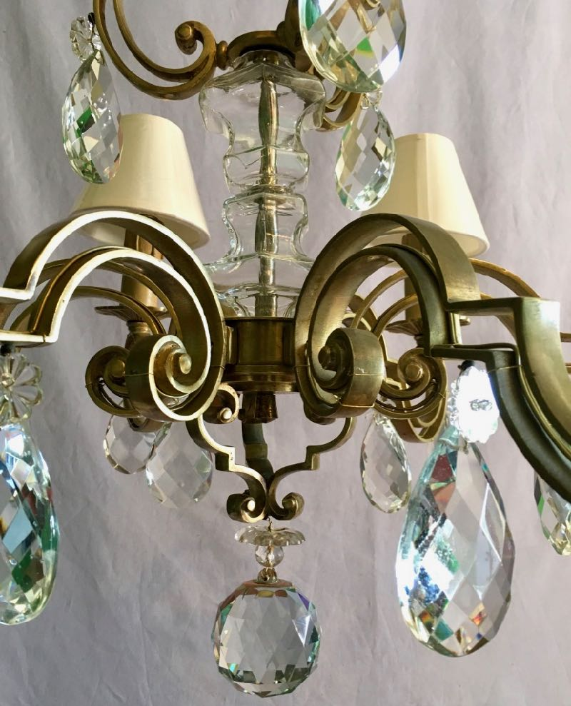 40s - 50s LARGE CEILING LIGHT