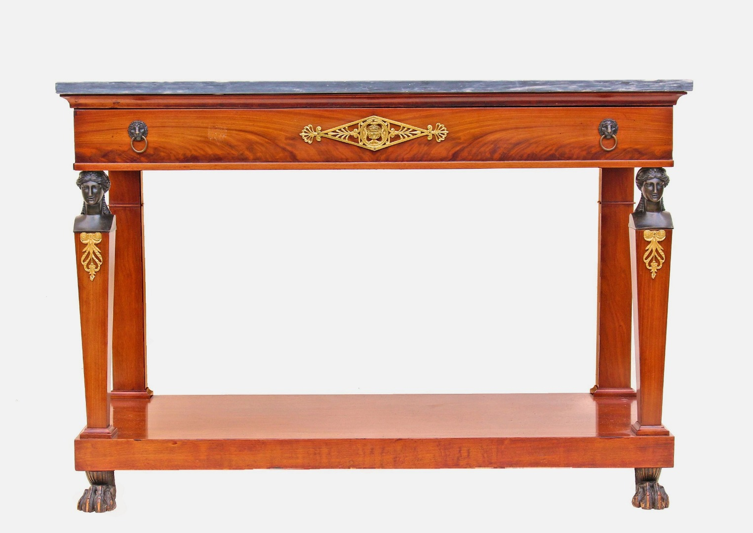 18th CENTURY CONSOLE TABLE attributed to Molitor
