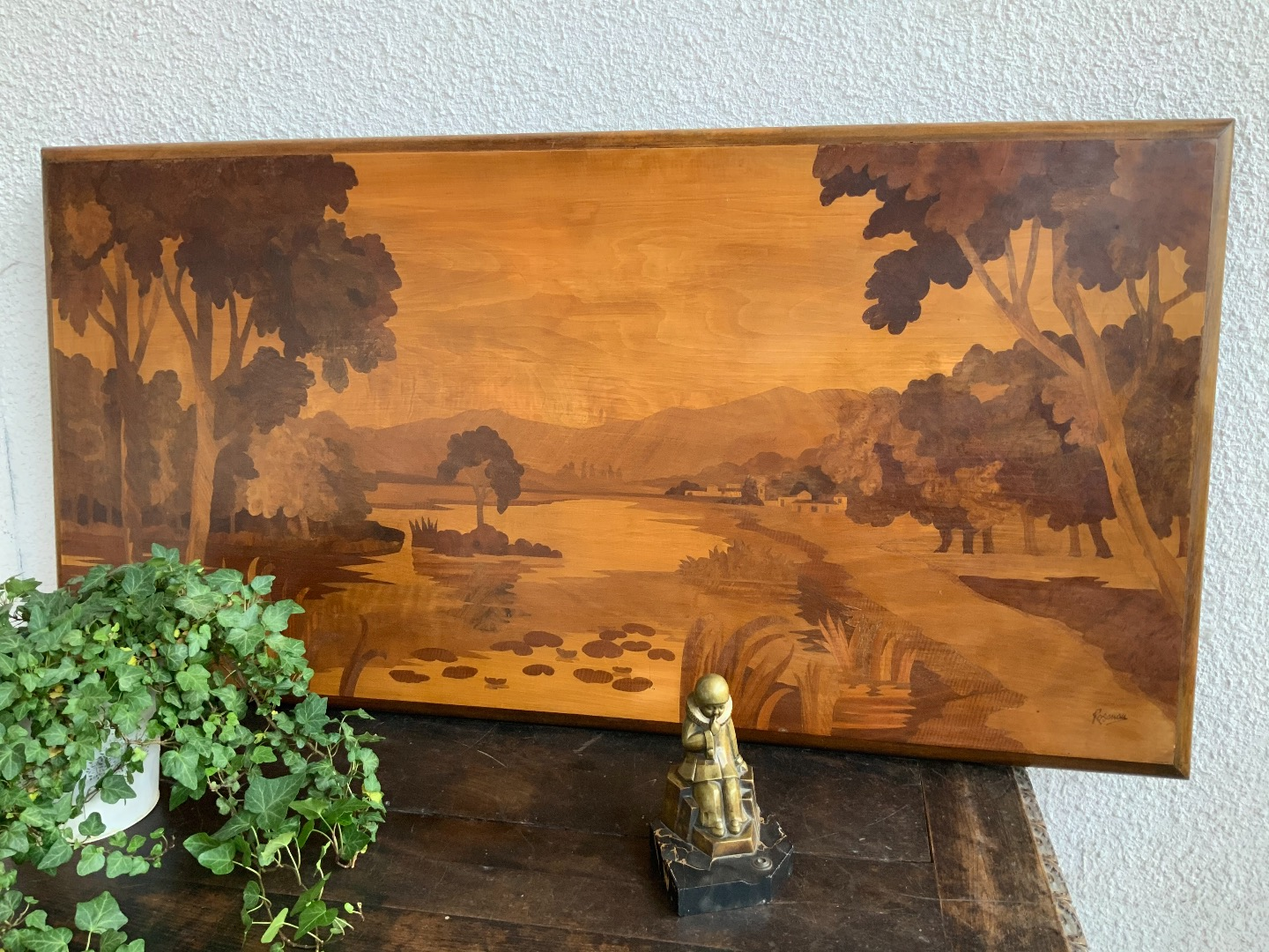 MARQUETRY PANEL BY ROSENAU