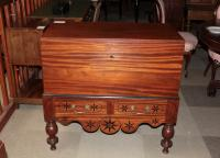 COLONIAL CHEST ON STAND
