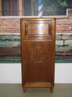 RADIO CABINET IN MAHOGANY