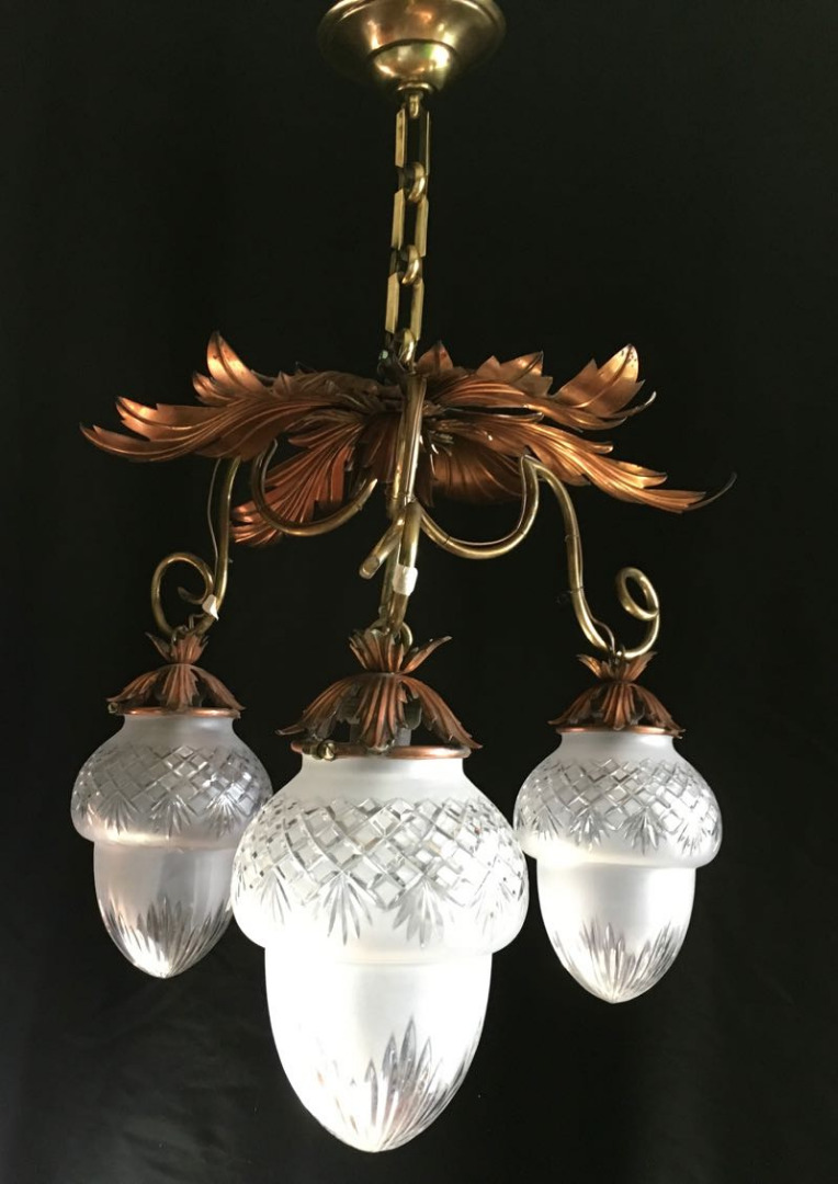 ART NOUVEAU PERIOD CHANDELIER