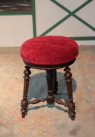 NAPOLEON III PERIOD PIANO STOOL