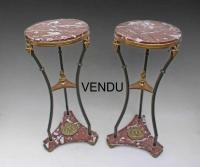PAIR OF NEO CLASSIC OCCASIONAL TABLES