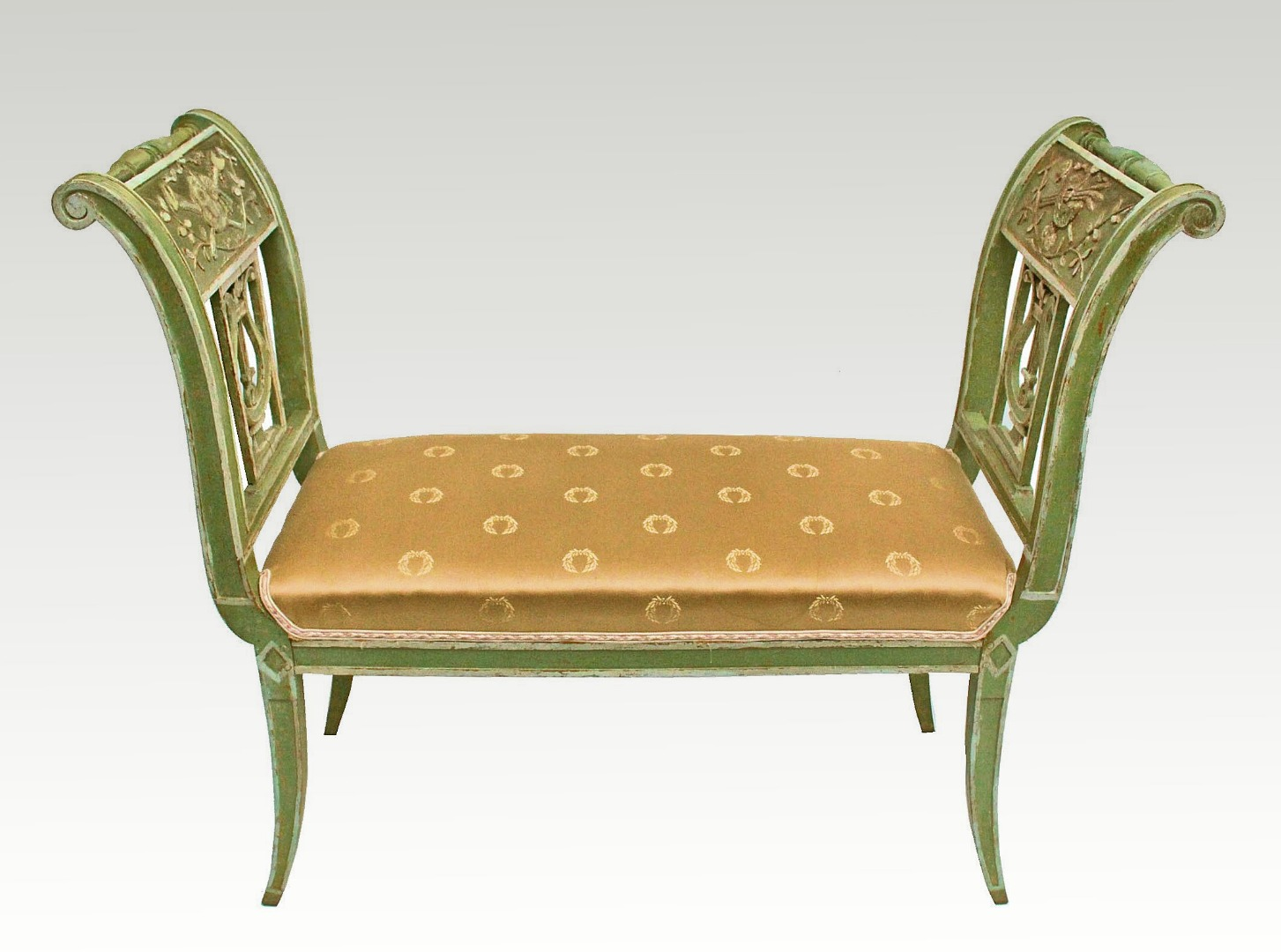 FRENCH DIRECTOIRE STYLE SEAT